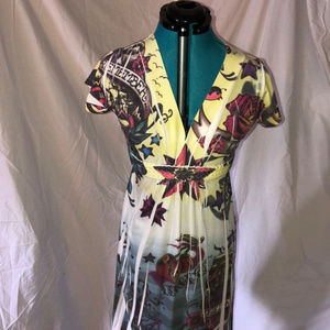 Torrid Tattoo Flash Graphic Dress Size 0 or 12/14